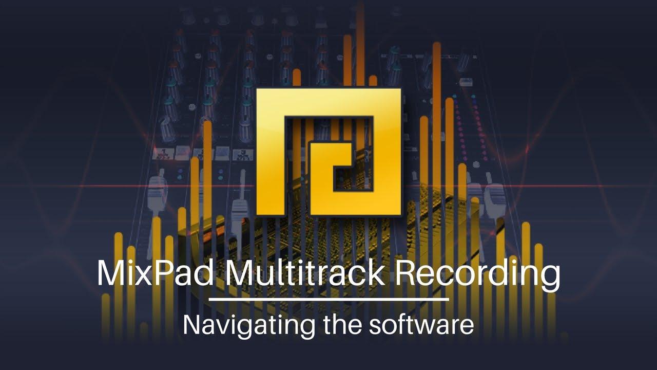 MixPad Multitrack Recording Software 5.10
