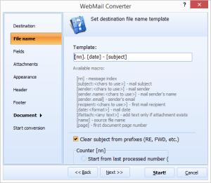 Total Webmail Converter