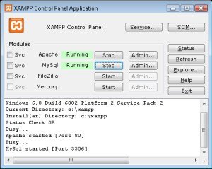 XAMPP 7.2.7