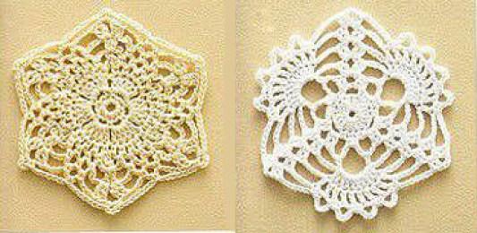 Crochet Coaster Pattern Graph