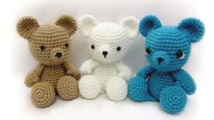 Crochet Stuffed Animals: See Free Crochet Bear Tutorial Amigurumi