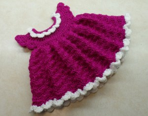 Free Crochet Baby Dress Video Tutorial