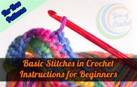 Basic Stitches in Crochet: Instructions for Beginners, Tips, Free Patternsm Graphics, Diagram, Tutorials, Step by Step, written pattern, points, symbols.