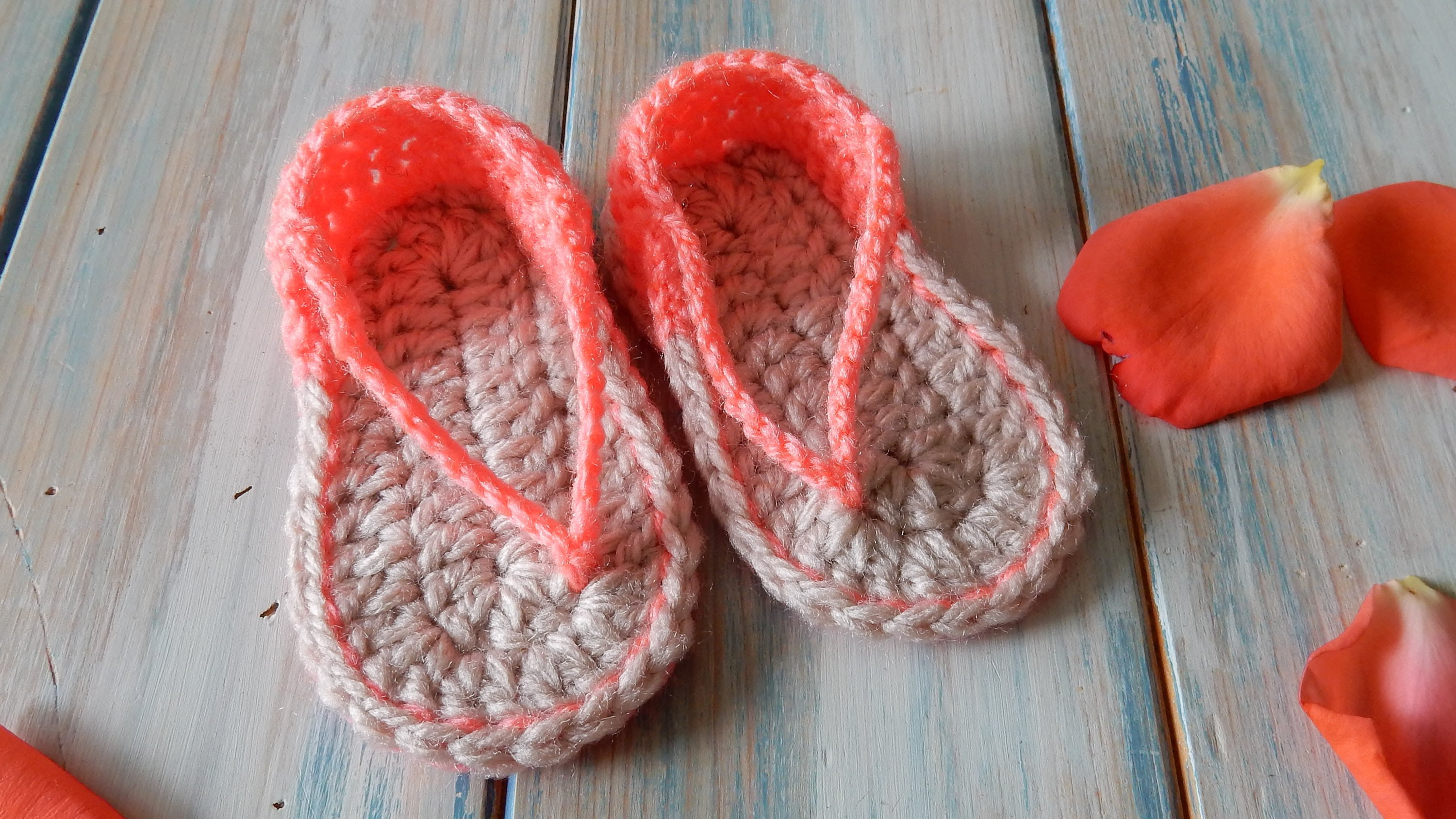 00-Free-Crochet-Pattern-Sandals-for-baby-Tutorial-vídeo-step-by-step ...