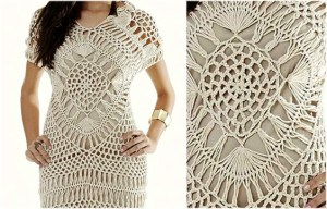 Crochet Dress Pattern Free: Feel beautiful in summer fashion