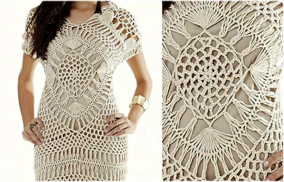 Crochet Dress Pattern Free Feel Beautiful In Summer Fashion Yarn