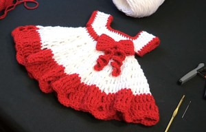Baby Clothes: Make a beautiful baby dress with free pattern + video