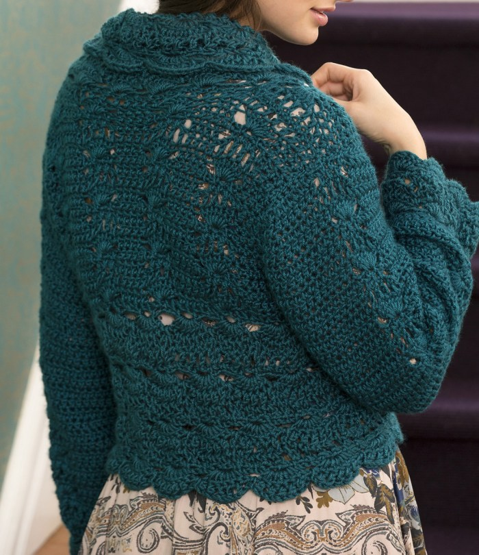 Free Pattern To Make A Crochet Cardigan Easy Pdf Instructions