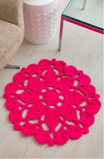 Tutorial and make a beautiful Area Rug to decorate Rug pattern easy to follow Rug with Free Graphic – Do It Yourself