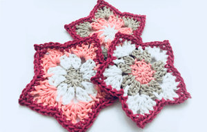 How to Crochet a Pointed Petal Flower | Free Pattern PDF Download