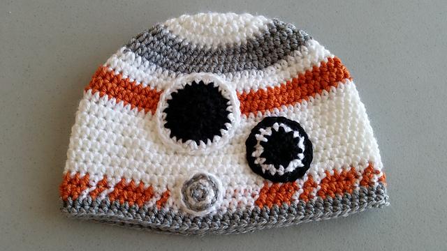 Bb8 Beanie Crochet Star Wars Pattern Free Hat Yarn Of Crochet