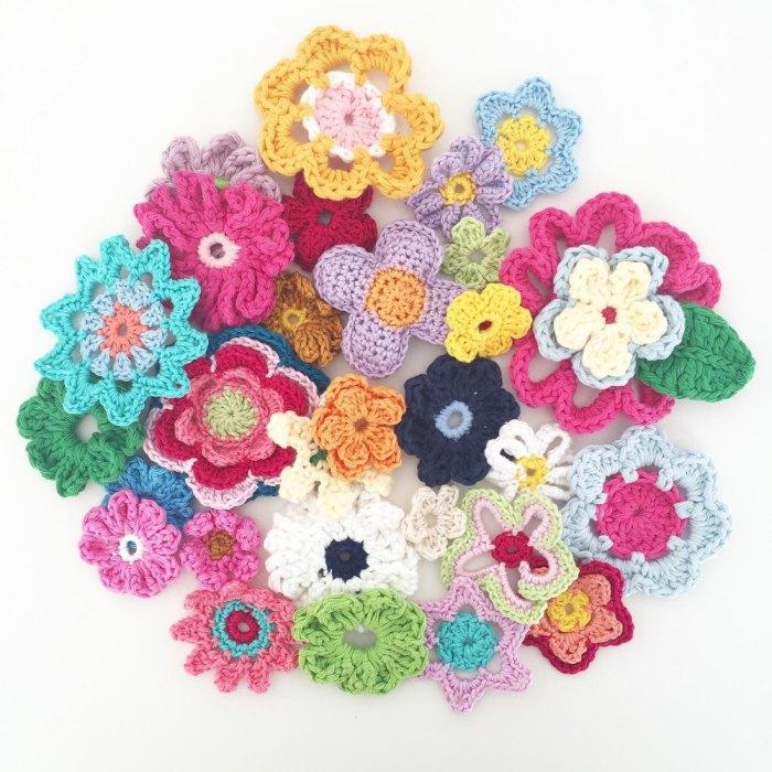 Crochet Flowers Ebook Free Pattern Yarn Of Crochet