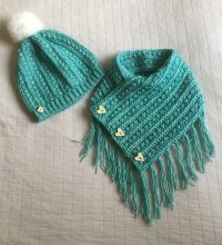 Malia Buttoned Shawl Free Crochet Pattern | Free Crochet ...