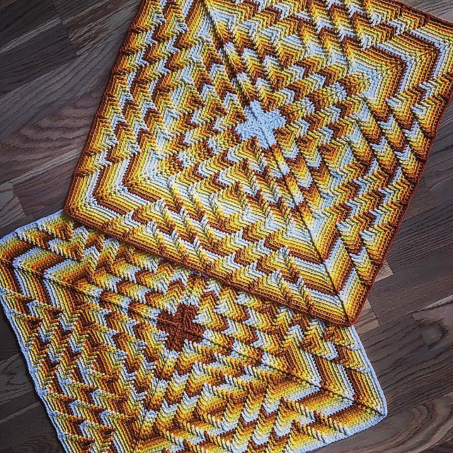 Nomad by Fate Pillow Free Crochet Pattern  Free Crochet