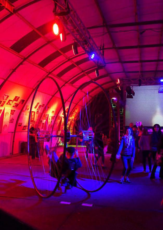 robodock art installation