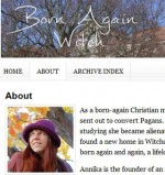 Annika Mongan – Born again Witch!