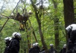 Hambach Forest protest against mining, Gerrmany
