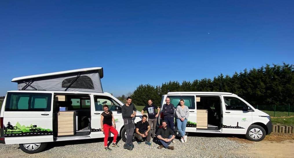 FreedomCamper A propos de Freedom Camper, une histoire de van