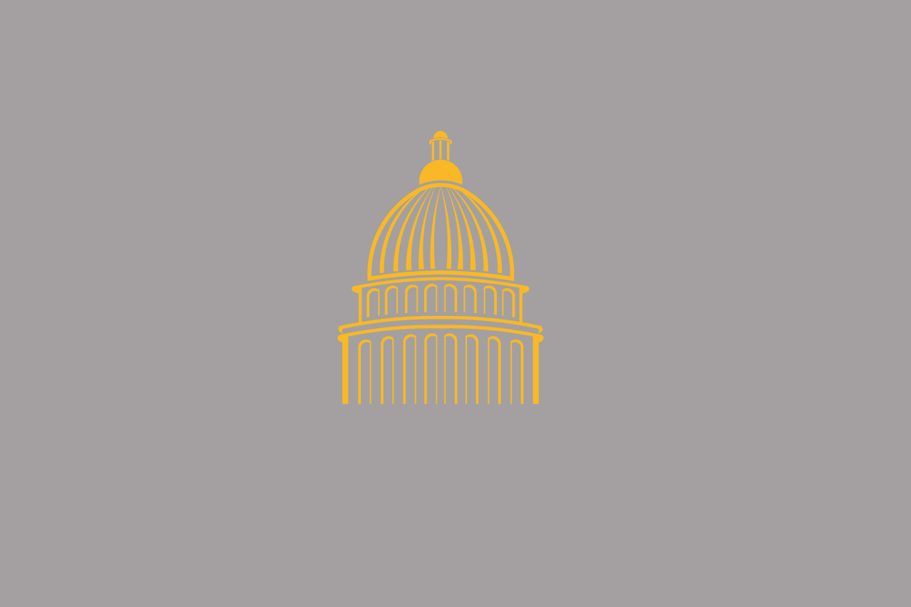 State Capitol Building Illustration