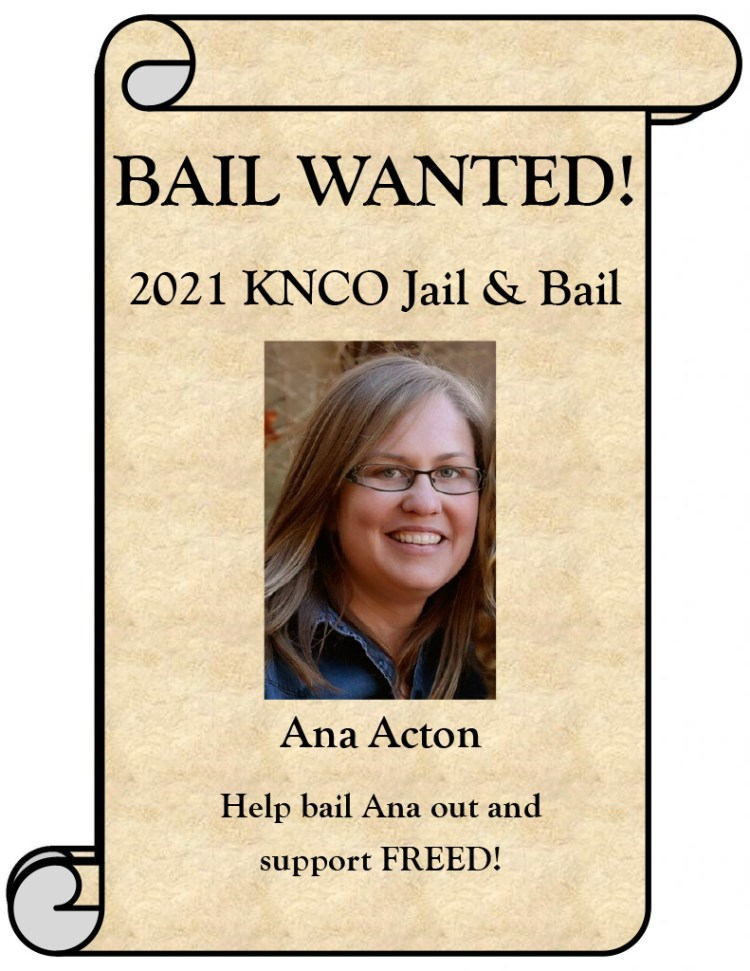 Ana Acton Wanted poster