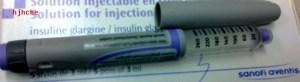 Insulin Glargine untuk kencing  manis