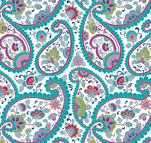 abstract ornate floral pattern