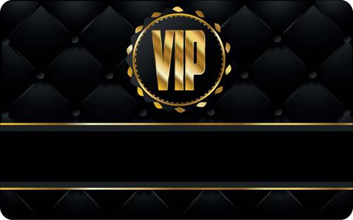 Set of Senior VIP cards design vector 05  Vector Card