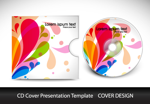 abstract cd cover presentation