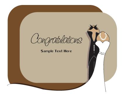 Set Of Wedding Invitation Cards Design Vector 05