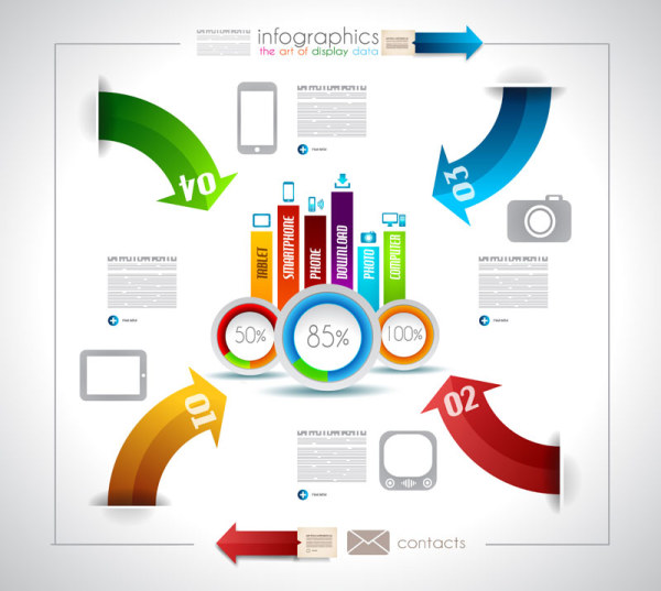 Infographics - The art of display data