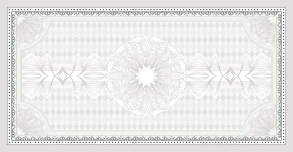 Decorative pattern Certificate Backgrounds vector 03 free