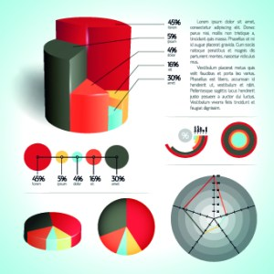 Modern Business diagram and infographic design vector 05
