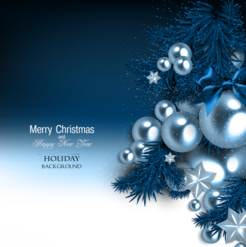 Shiny Christmas Holiday Background Vectors 01 Free Download
