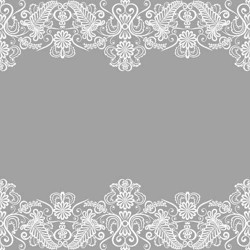 Simple lace art background vector 02 free download