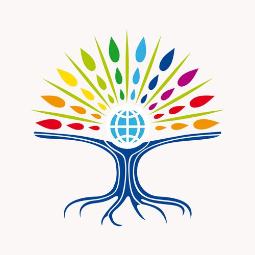 creative tree logo vector