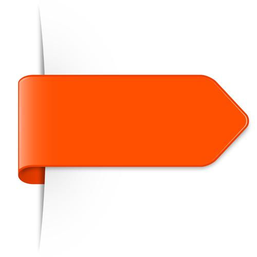 colored bookmarks design vectors