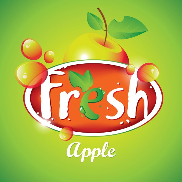 Fresh Juice Poster Design Vectors Material 04 Free