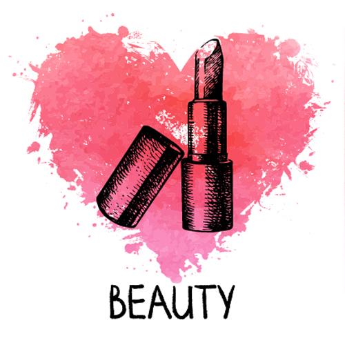 Afbeeldingsresultaat voor lipstick vector
