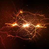 Lightning flash stick background vector 07 free download