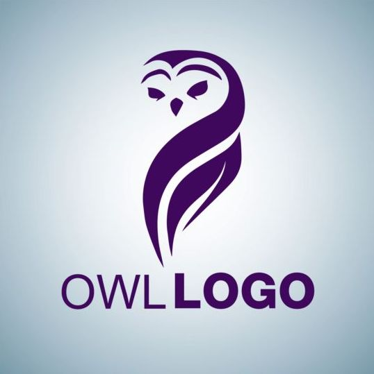 creative owl logo design