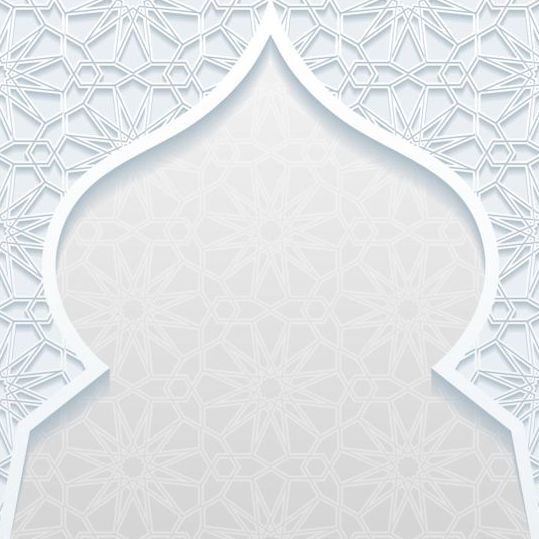 Mosque outline white background vector 13 free download