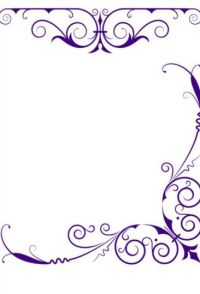Corner and border ornaments photoshop brushes free download