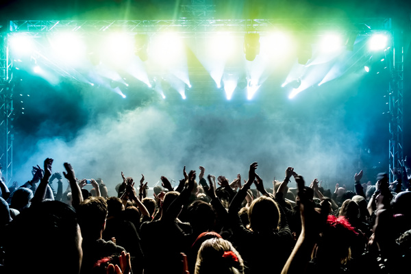 Cartoon Girl Live Wallpaper Icon Cheering Crowd At A Rock Concert Hd Picture 10 Musical