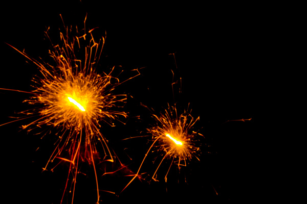 abstract firework background hd