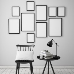 Chair Photo Frame Hd Rocking Desk Coffee Table With White On The Wall Picture Free Download