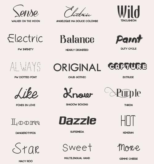 Download 18 Kind free font pack free download
