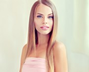 fashion girl makeup and beautiful