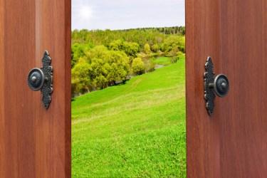 door open backgrounds file format
