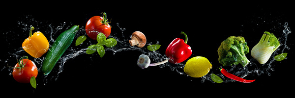 Car Wallpapers Opst High Speed Lens Vegetable Splash Water Hd Picture 02 Free