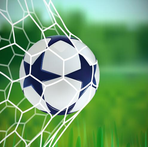 simple football background vector